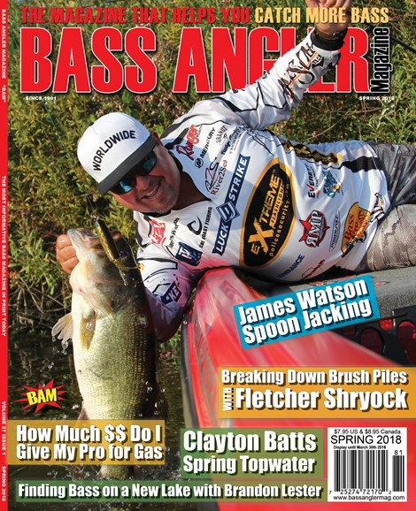 Bass Angler Cover - 3/1/2018