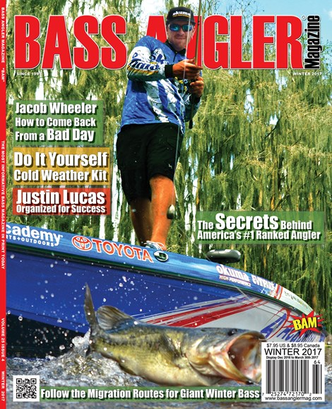 Bass Angler Cover - 12/1/2016