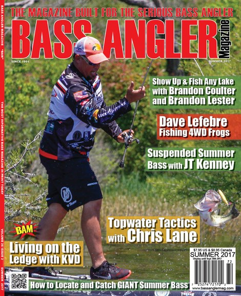 Bass Angler Cover - 6/1/2017