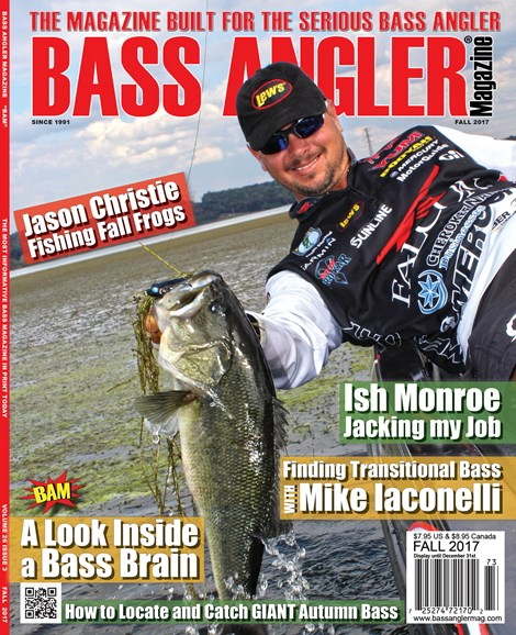 Bass Angler Cover - 9/1/2017
