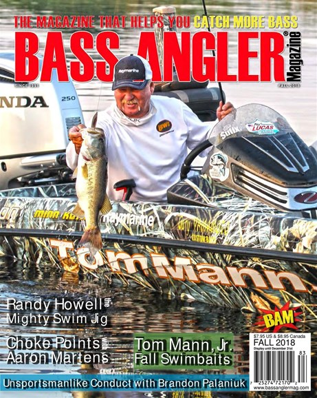 Bass Angler Cover - 9/1/2018