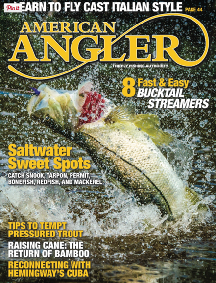 American Angler Cover - 3/1/2016