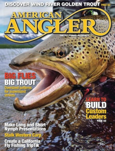 American Angler Cover - 5/1/2016