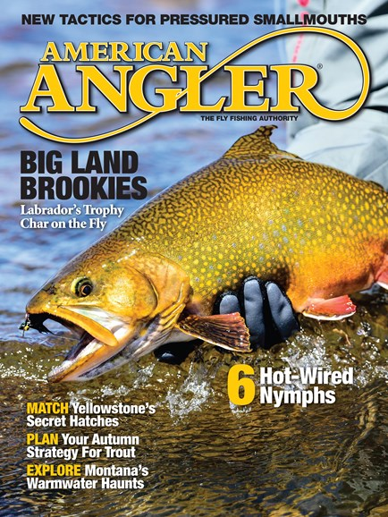 American Angler Cover - 9/1/2016