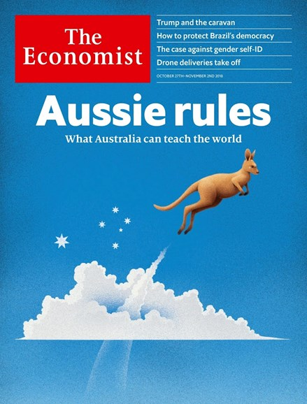 The Economist Cover - 10/27/2018