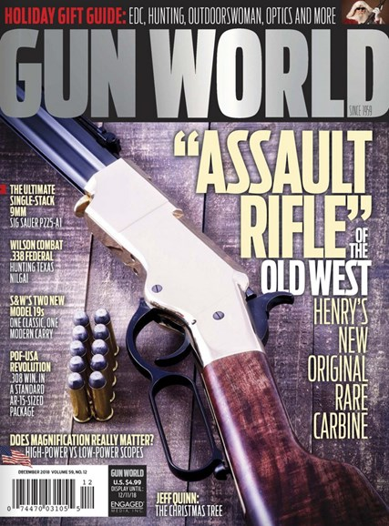 Gun World Cover - 12/1/2018