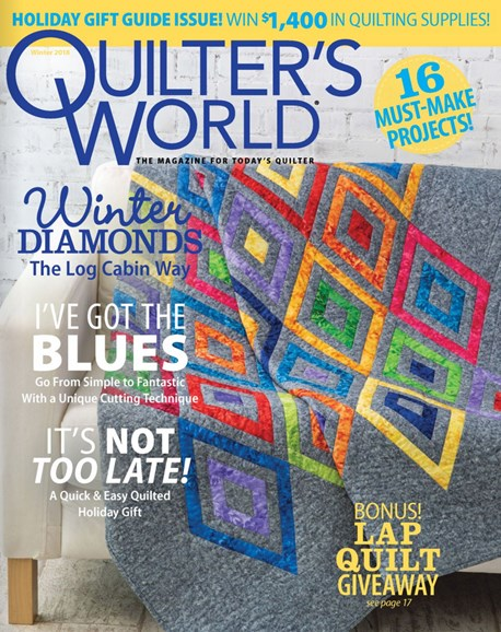Quilter's World Cover - 12/1/2018