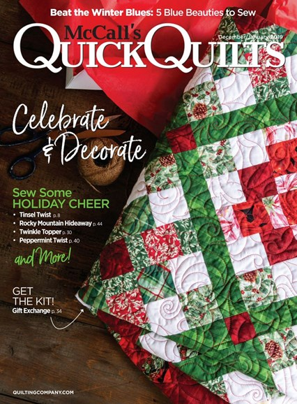 McCall's Quick Quilts Cover - 12/1/2018