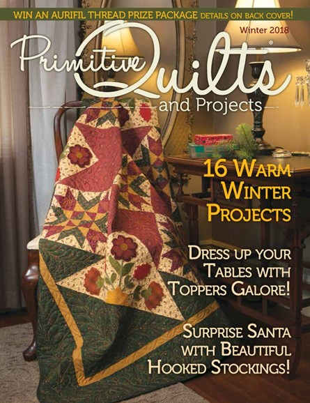 Primitive Quilts & Projects Cover - 12/1/2018