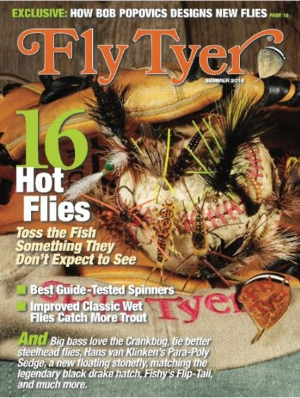 Fly Tyer Cover - 6/1/2016