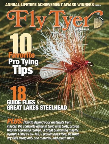 Fly Tyer Cover - 3/1/2016
