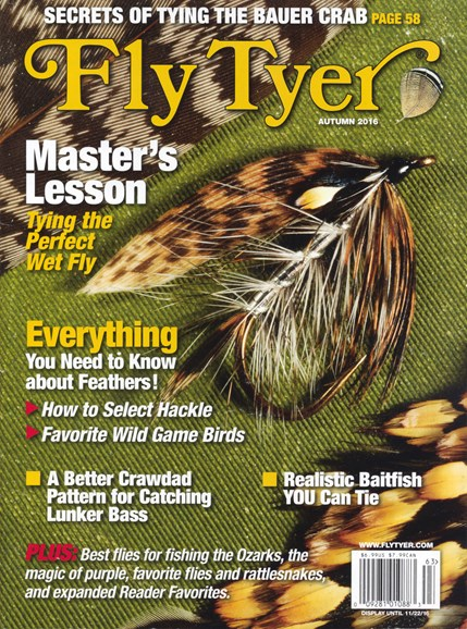Fly Tyer Cover - 9/1/2016