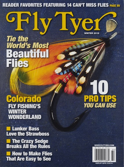 Fly Tyer Cover - 12/1/2016