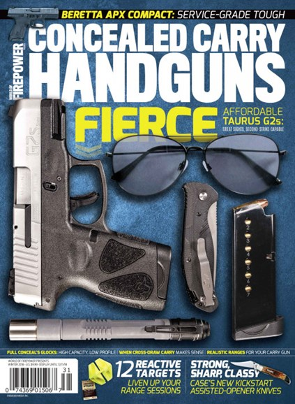Concealed Carry Handguns Cover - 12/1/2018