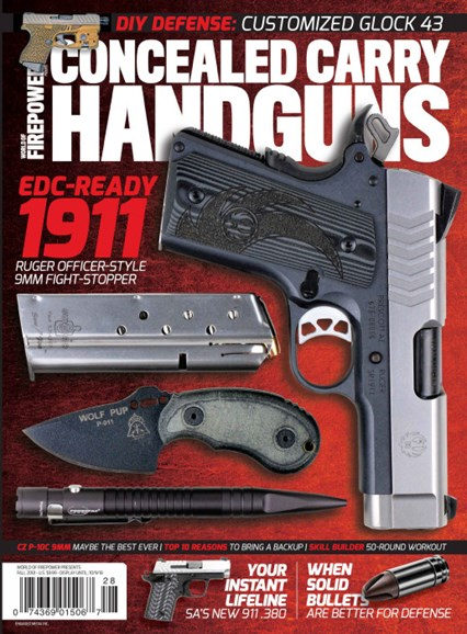 Concealed Carry Handguns Cover - 9/1/2018