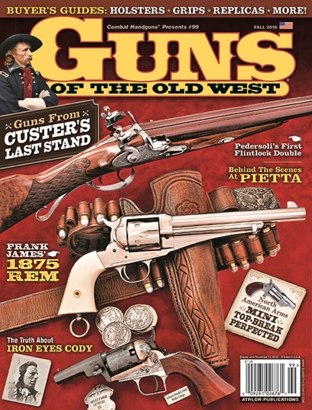 Guns Of The Old West Cover - 9/1/2018