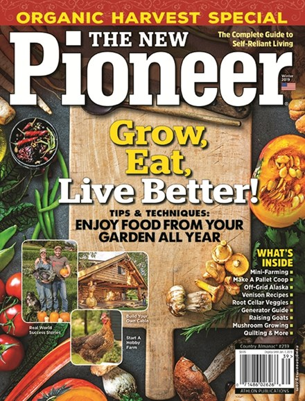 The New Pioneer Cover - 1/1/2019