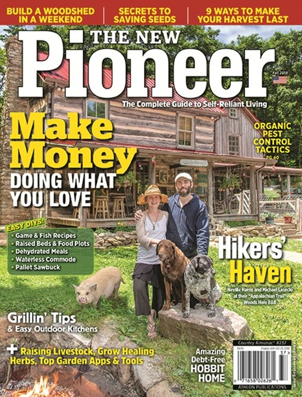 The New Pioneer Cover - 9/1/2018