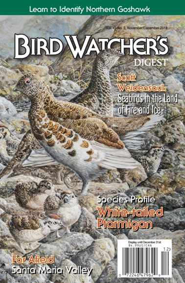 Bird Watcher's Digest Cover - 11/1/2018