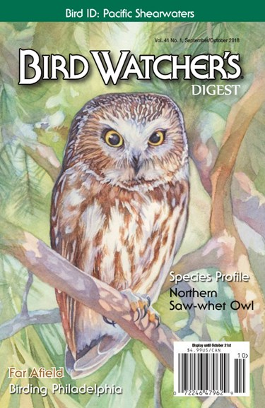 Bird Watcher's Digest Cover - 9/1/2018
