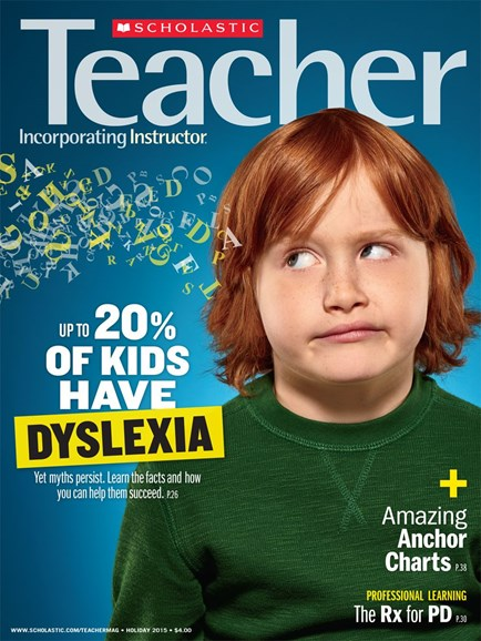 Scholastic Teacher Cover - 12/1/2015