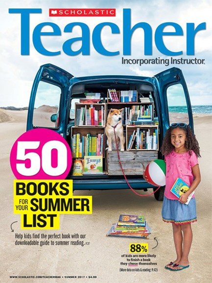 Scholastic Teacher Cover - 6/1/2017