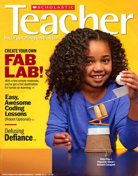Scholastic Teacher Cover - 3/1/2016