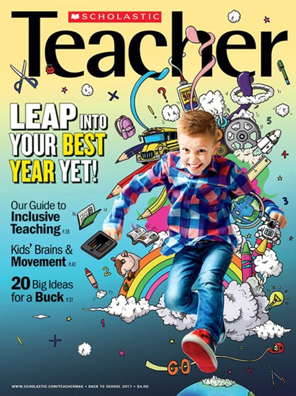 Scholastic Teacher Cover - 9/1/2017
