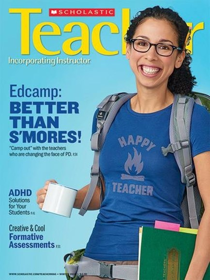 Scholastic Teacher Cover - 1/1/2016