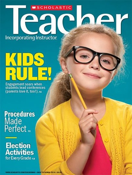 Scholastic Teacher Cover - 9/1/2016
