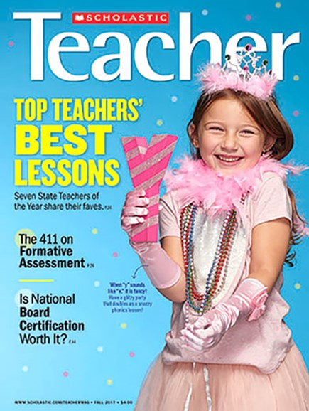 Scholastic Teacher Cover - 10/1/2017