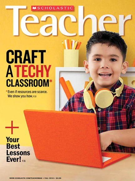 Scholastic Teacher Cover - 10/1/2018
