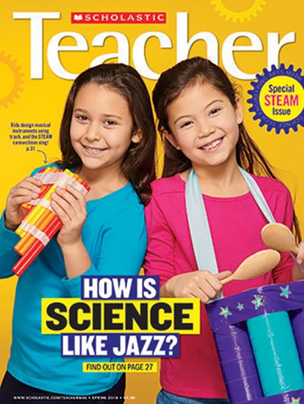 Scholastic Teacher Cover - 3/1/2018