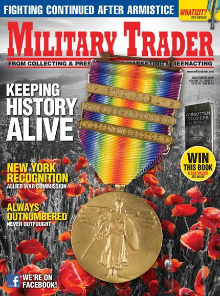 Military Trader Cover - 11/1/2018