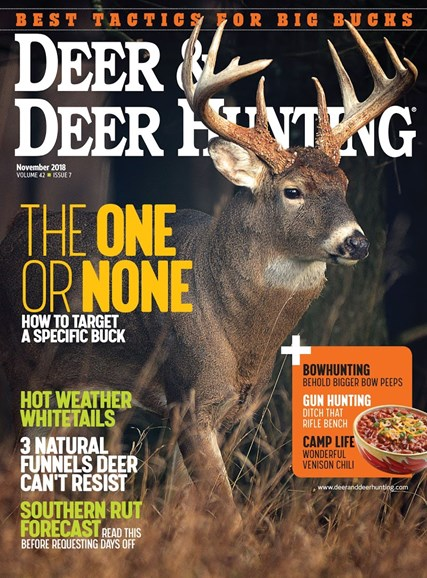 Deer & Deer Hunting Cover - 11/1/2018