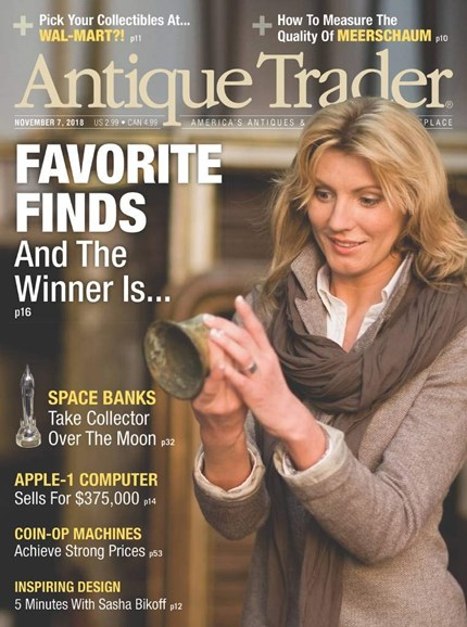 Antique Trader Cover - 11/7/2018