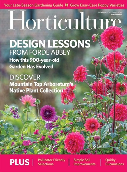 Horticulture Cover - 11/1/2018