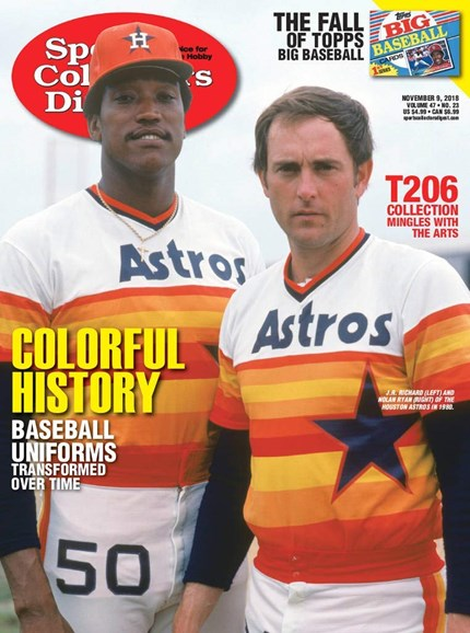 Sports Collectors Digest Cover - 11/9/2018