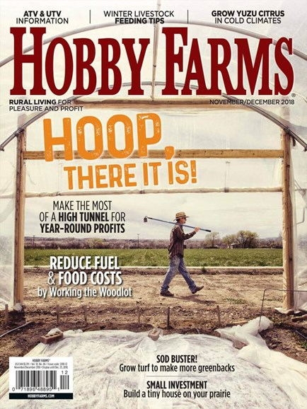 Hobby Farms Cover - 11/1/2018