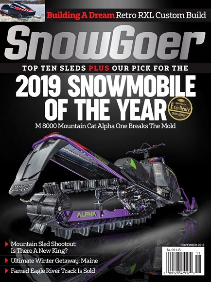 Snow Goer Cover - 11/1/2018
