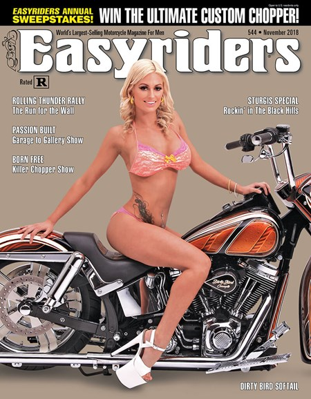 Easyriders Cover - 11/1/2018