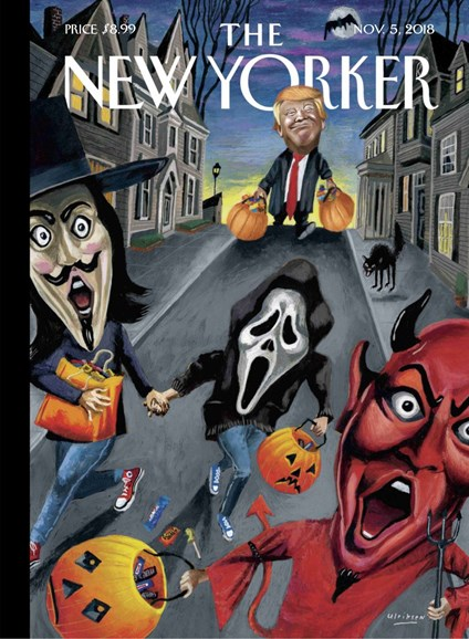 The New Yorker Cover - 11/5/2018