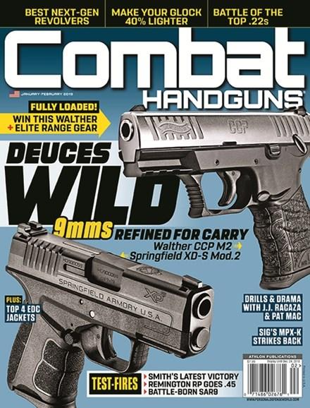 Combat Handguns Cover - 1/1/2019