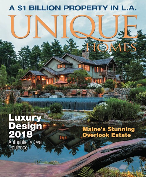 Unique Homes Cover - 9/1/2018