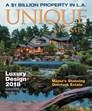 Unique Homes Magazine   9/2018 Cover