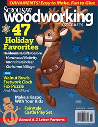 Scroll Saw Woodworking Magazine | 12/1/2018 Cover
