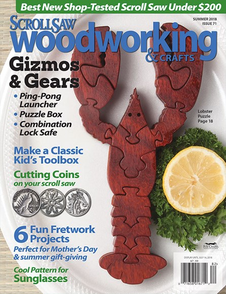 Scroll Saw Woodworking & Crafts Cover - 6/1/2018