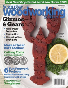 Scroll Saw Woodworking & Crafts | 6/2018 Cover