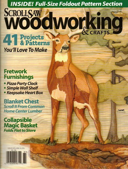 Scroll Saw Woodworking & Crafts Cover - 3/1/2018
