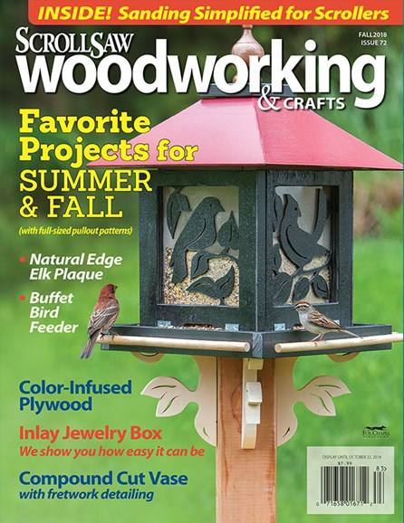 Scroll Saw Woodworking & Crafts Cover - 9/1/2018